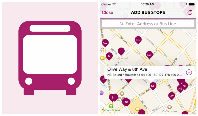 Apple Watch Apps - Bus Times - BusMe3