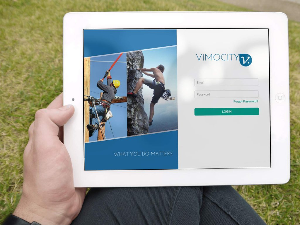 Vimocity's site works well in the great outdoors
